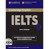 Cambridge IELTS 9 Self-study Pack (Student's Book with Answers and Audio CDs (2)) Authentic Examination Papers from Cambridge ESOL