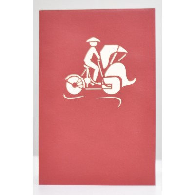 Vietnam Xich Lo Greeting Cards
