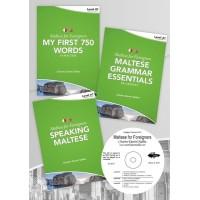 Maltese for Foreigners Level A1 Beginner (3 books+CD)