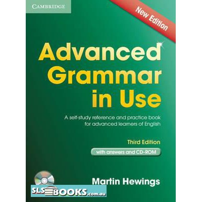Advanced Grammar in Use Third edition book with answers and cd
