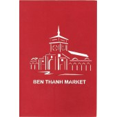 Ben Thanh Greeting Card