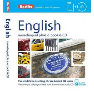 Berlitz Language: English Phrase Book & CD