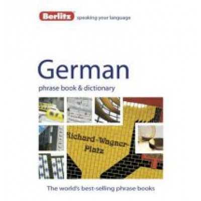 Berlitz Language: German Phrase Book & Dictionary