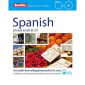 Berlitz Language: Spanish Phrase Book & CD