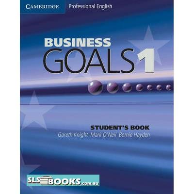Business Goals 1 Student's Book
