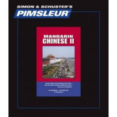 CHINESE (MANDARIN) II, COMPREHENSIVE, Learn to Speak and Understand Mandarin Chinese with Pimsleur Language Programs