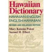 Hawaiian Dictionary Hawaiian-English, English-Hawaiian