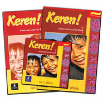 Keren! Stage 1 Course Book, Activity Book, & CD-ROM Pack: The Complete Indonesian Package
