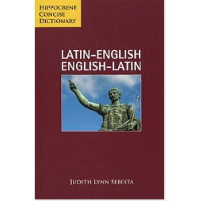 Latin-English English-Latin Concise Dictionary