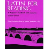 Latin for Reading; A Beginner's Textbook with Exercises
