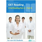 OET Reading Nurse - 2 Reading Subtest Part A and 1 Part B for Non SLS Students