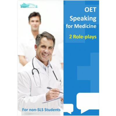 OET Speaking for Medicine - 2 Role plays for Non SLS Students