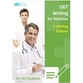 OET Writing for Dietician - 2 Writing Subtest for SLS Students
