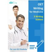 OET Writing for Medicine - 3 Writing Subtest for Non SLS Students