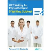 OET Writing for Physiotherapist- 5 Writing Subtest for Non SLS Students