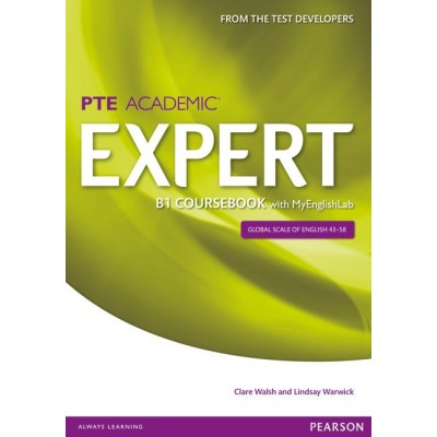 Pearson Test of English Academic B1 Expert Coursebook with MyEnglishLab