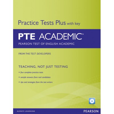 Pearson Test of English Academic Practice Tests Plus and CD-ROM with Key Pack