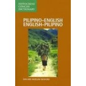 Pilipino-English / English-Pilipino Concise Dictionary