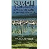 Somali-English / English-Somali Dictionary & Phrasebook