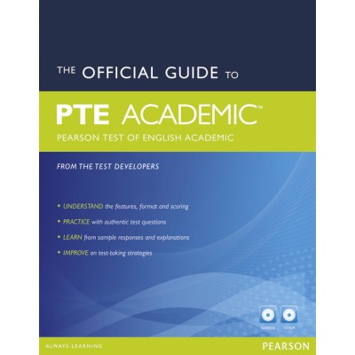 The Official Guide to the Pearson Test of English Academic New Edition Pack (2e)