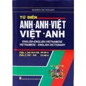 Tu Dien Anh Anh Viet Viet Anh: English-English-Vietnamese, Vietnamese-English Dictionary