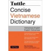 Tuttle Concise Vietnamese Dictionary: Vietnamese - English / English - Vietnamese